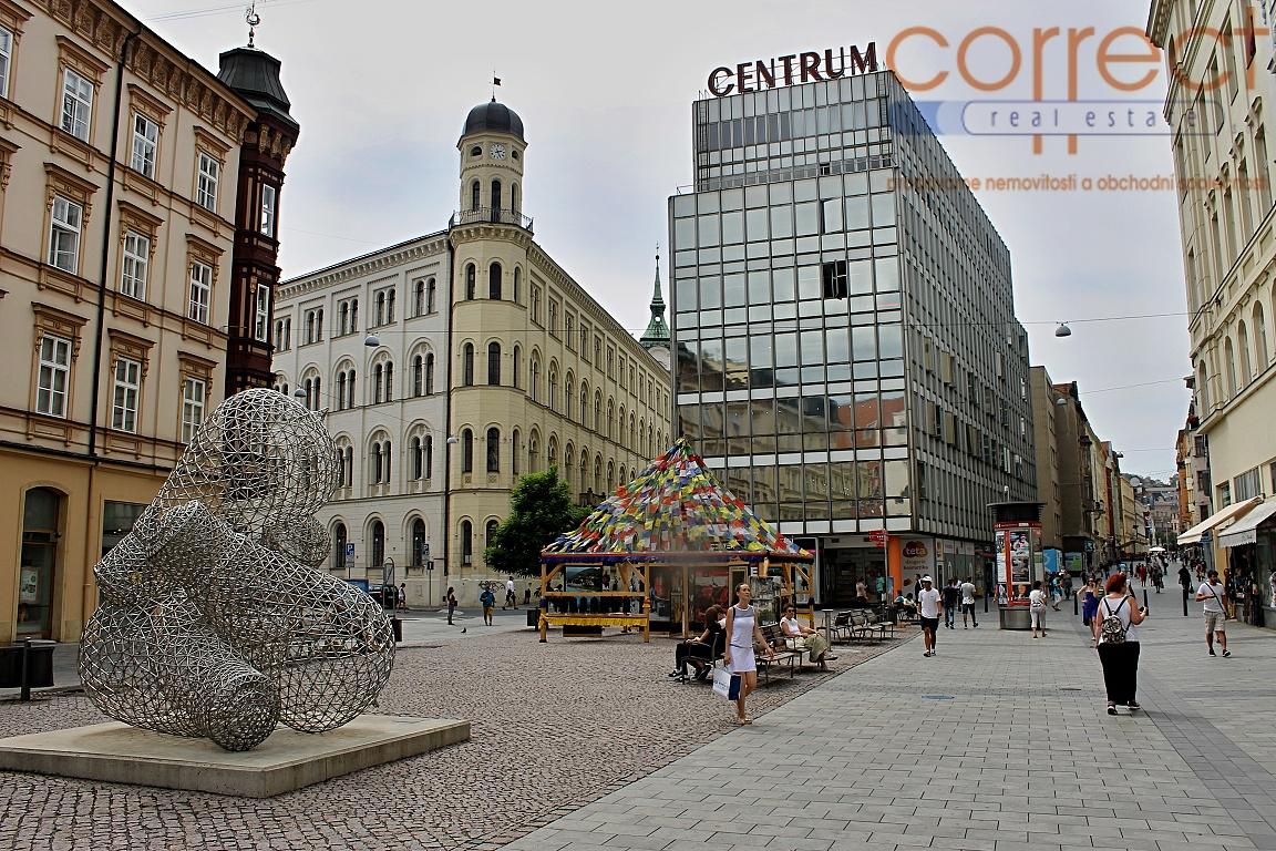 Pronájem kancelářských prostor vhodných i pro masážní salon, Brno-střed, CP 105 m2