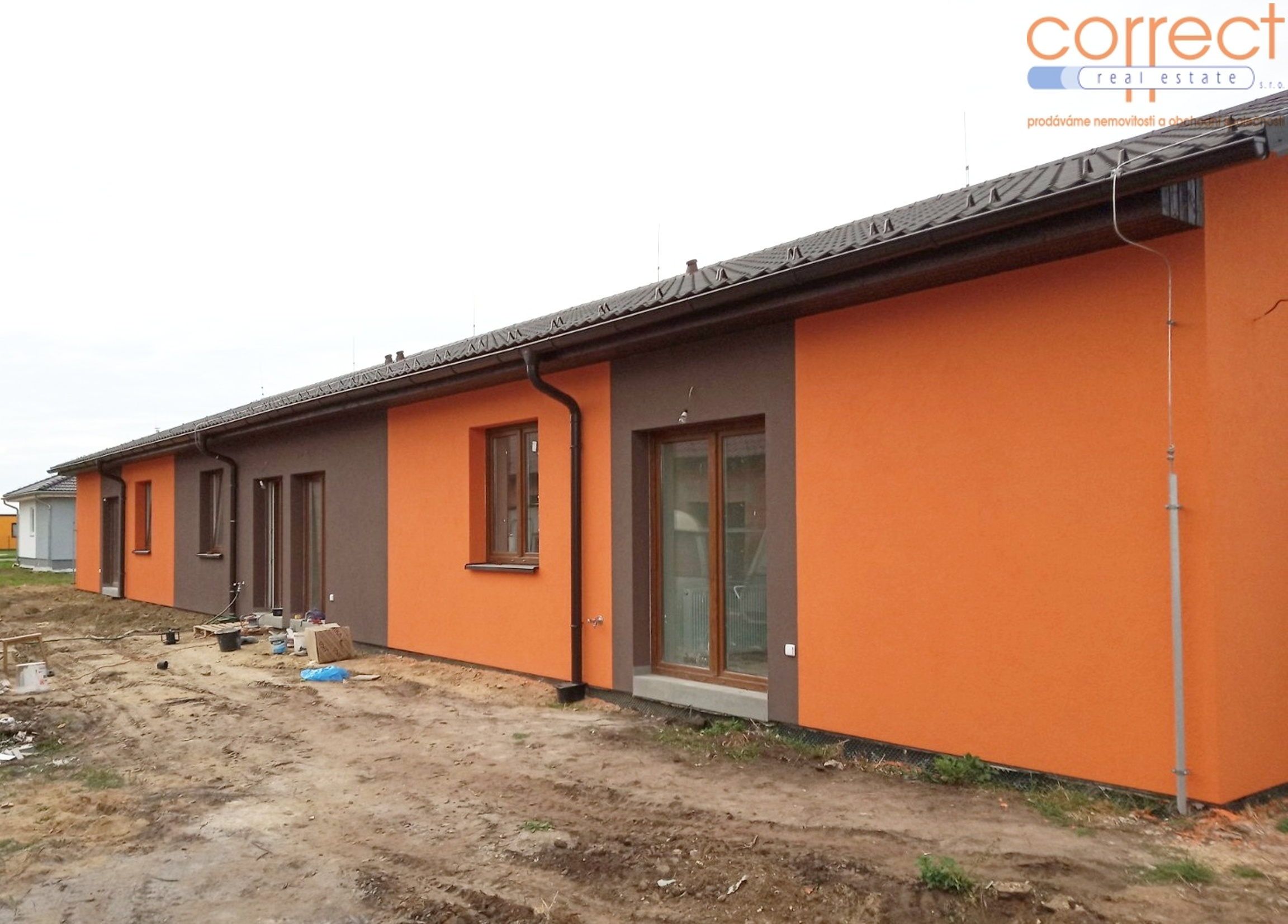Prodej V. etapy výstavby bytů 3+kk se zahradou, CP 242 m² s parkovacím stáním v obci Šanov
