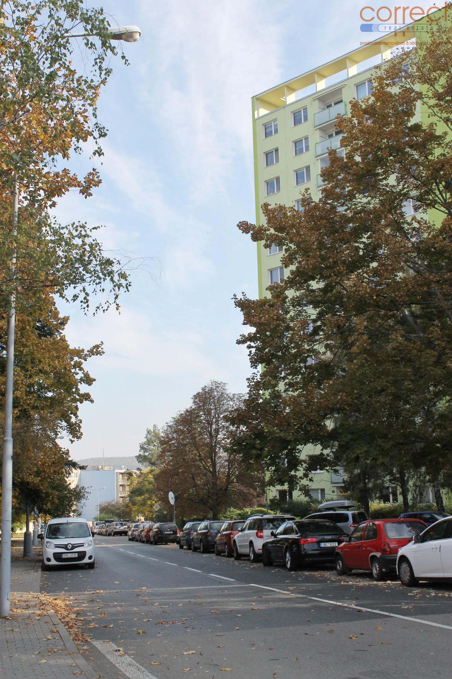 OV 3+1 Brno-Královo Pole, ul.  Herčíkova, CP 66 m2, lodžie,  8.NP