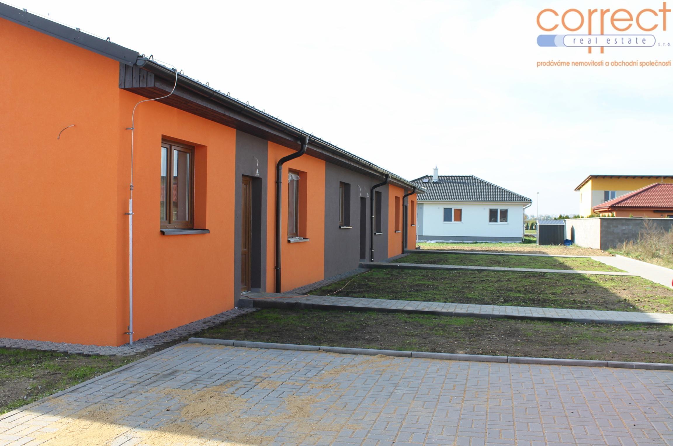 Prodej V. etapy výstavby bytů 3+kk se zahradou, CP 289 m² s parkovacím stáním v obci Šanov