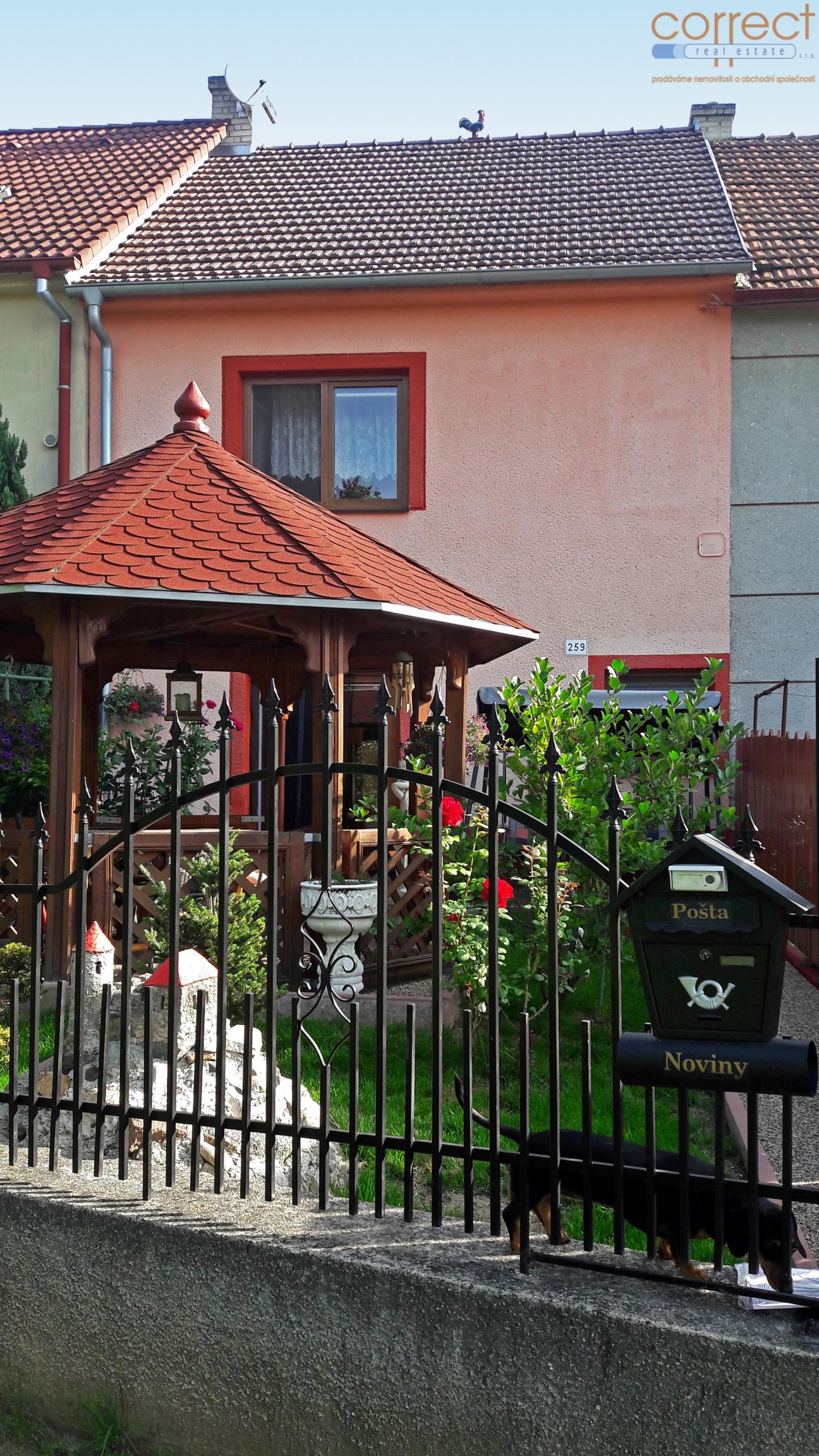 Prodej RD 3+1 Moravské Bránice, zahrada, garáž