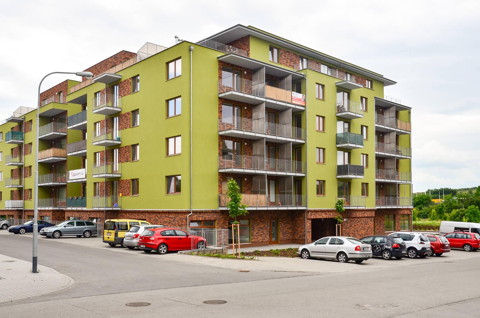 Podnájem novostavby bytu 1+kk, 34 m², Brno-Starý Lískovec