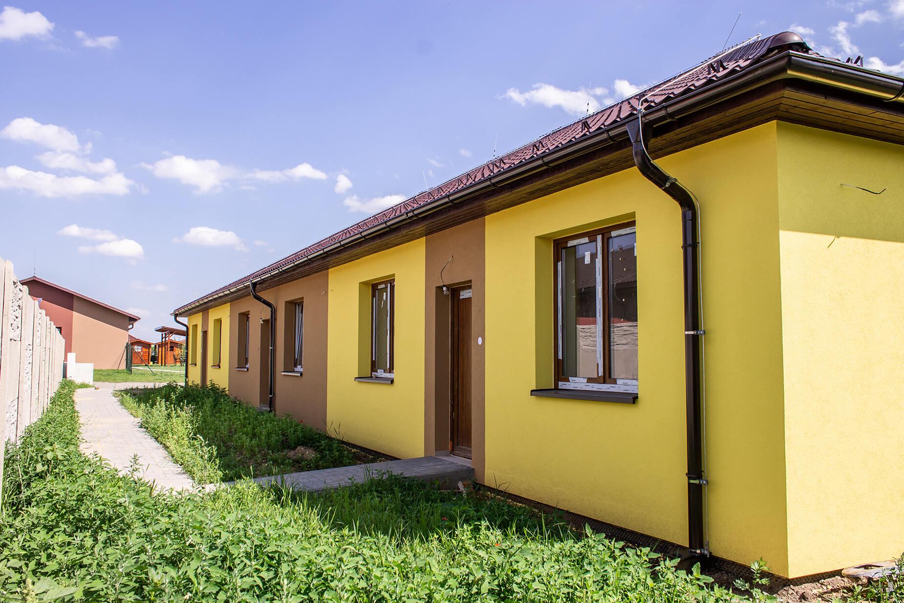 Velkometrážní byt 4+kk se zahradou a parkovacím stáním v obci Šanov, CP 297 m² (8.3)