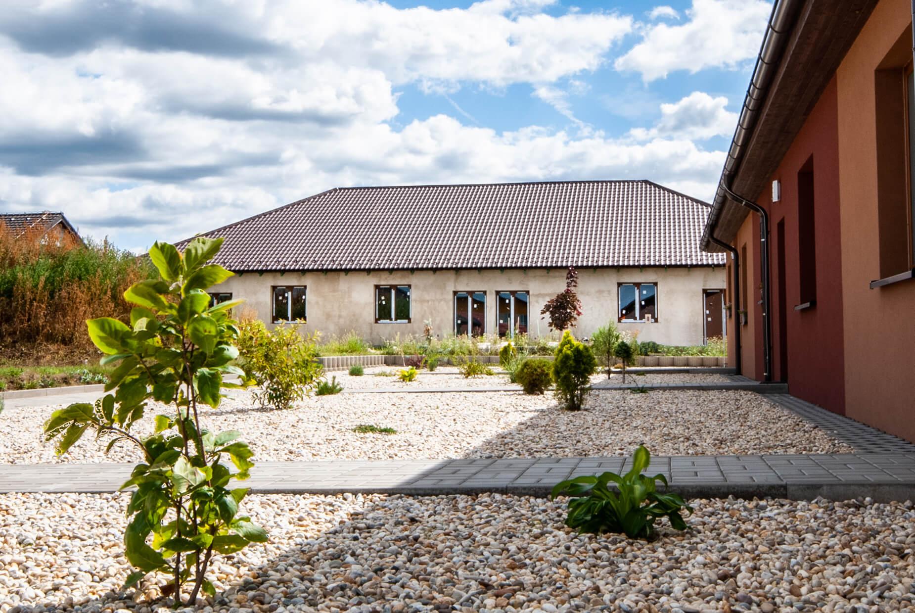 Prodej 9. etapy bytů 4+kk se zahradou v obci Šanov (byt č. 2), CP 256 m²