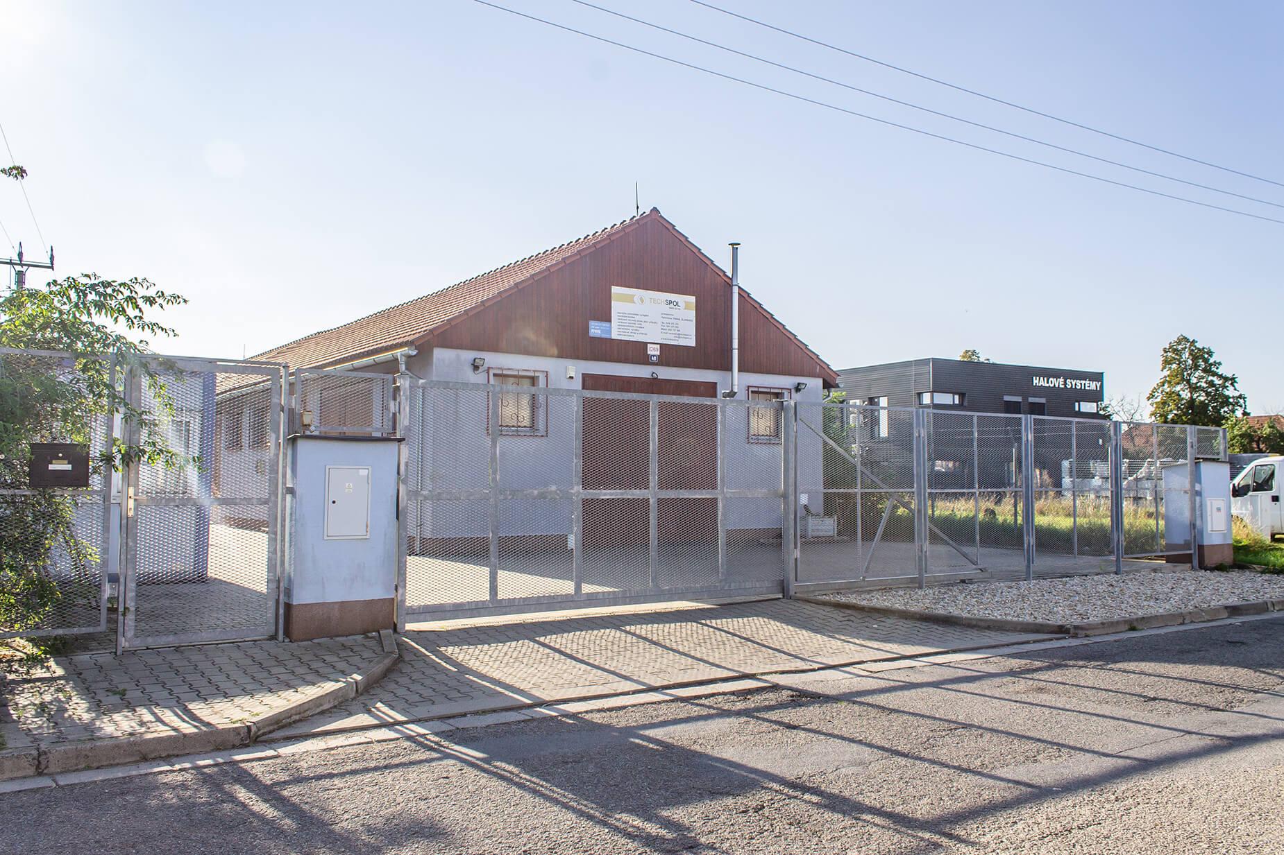Prodej skladového a výrobního prostoru, Šlapanice, CP 1.645 m²