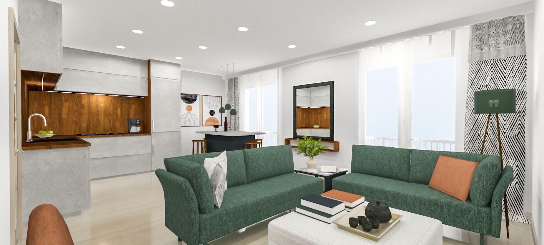 Novostavba mezonetového bytu č. 14 o velikosti 3+kk, cp: 78 m², Hustopeče