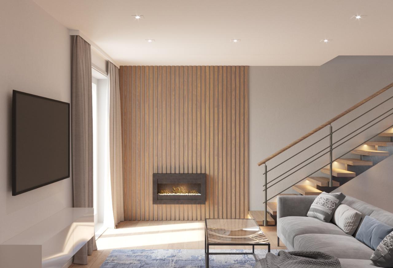 Velkometrážní byt 4+kk se zahradou a parkovacím stáním v obci Šanov, CP 218 m² (7.2)